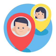 See more icon inspiration related to place, map, pin, point, person, maps and location, location pin, placeholder and location on Flaticon.
