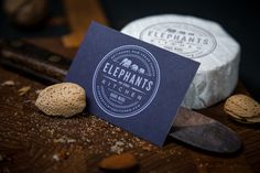 Elephants in the Kitchen on Behance #cards