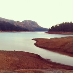 Down the Western Mountains Seeing Fires Hello, Internet #lake #photography #vintage #lomo