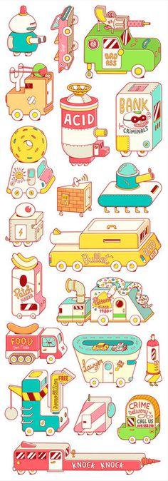 Brosmind Criminals #toys #junk #food #colors #cars #kids