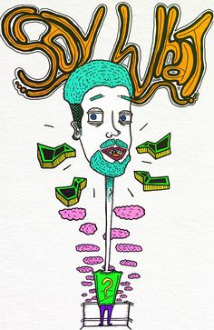 """""""Say What"""" by Molly Yllom #illustration #character #design"""