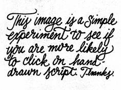 Script | Brandon Rike #lettering #script #drawn #handwritten #hand #experiment #typography