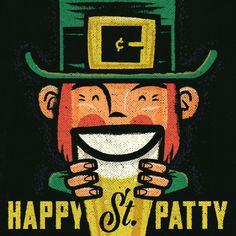 Happy St Patricks Day 2016 #stpatrick #vintageposter #irish #StPatty