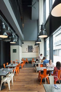 Jamie-s-Italian-in-Westfield, Stratford-City-Blacksheep-Jamie-Oliver-photo-Gareth-Gardner-1-Yatzer #interior #design #restaurant