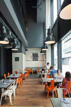 Jamie-s-Italian-in-Westfield, Stratford-City-Blacksheep-Jamie-Oliver-photo-Gareth-Gardner-1-Yatzer #interior #design #restaurant