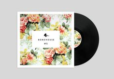 Bonehouse Record cover #album #design #cover #vinyl #flowers