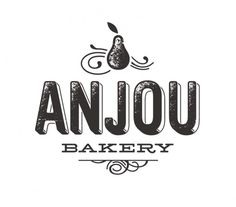 All sizes | Anjou Bakery logo | Flickr - Photo Sharing! #illustration #typography #logo #lettering #handmade