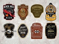 Cran Beer Labels #beer #labels