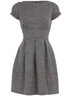 Classic Tweed Dress