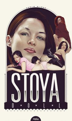 Stoya on Behance #porn #print #illustration #poster #art #typography