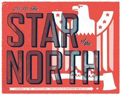 design work life » cataloging inspiration daily #type #print #north #star