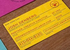 Mikey Burton / Graphic Design, Illustration and Letterpress #card #design #graphic #business