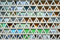 CJWHO ™ (Eric Forey | Façad'face Eric Forey is a French...) #facade #pattern #forey #eric #photography #architecture #art #urbanism