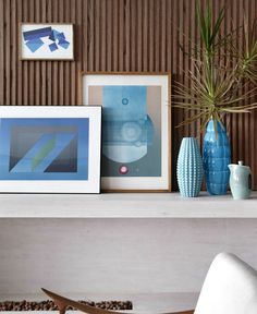 Original Urban Style Home interior decor shades blue