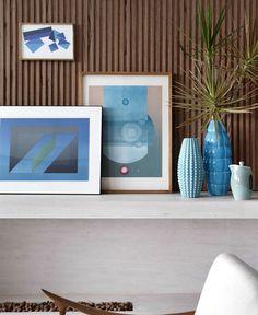 Original Urban Style Home interior decor shades blue