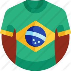 See more icon inspiration related to cultures, tshirt, clothing, flags, shirt, brazil, fashion, clothes and t shirt on Flaticon.