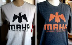 Maha Music Festival Logo #maha