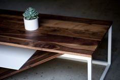 """Doppio table"" - by Harkavy Furniture"