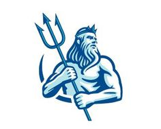 Neptune #neptune #illustration #logo #blue