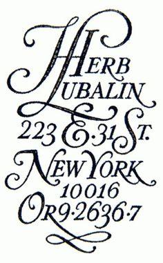 5 | Herb Lubalin: la saga ITC et U&lc  design et typo
