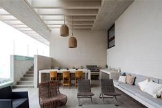 Exposed Concrete House in Chile - InteriorZine