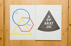 SHOULD NOT BE ON DISPLAY – The Apparatjik Graphic Magazine | Slanted Typo Weblog und Magazin
