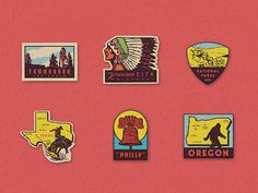 Travel Stickers #badges