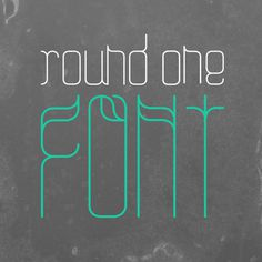Roundone Font #font #wwwultratypesc #from #you #dowload #the #can #typography