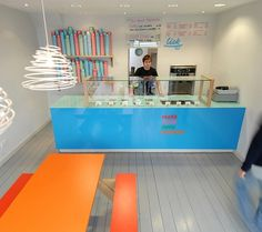 Lick, Brighton | We Heart; Lifestyle & Design Magazine #identity #shopfit #pastel