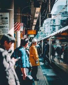 Fascinating Street Photography of Tokyo by Jongwoo Kim