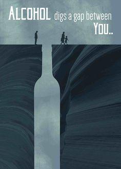 Anti alcoholism posters