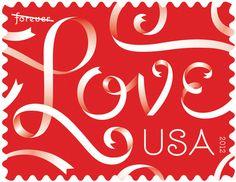 Love Stamp | Jessica Hische #font #lettering #pattern #hische #jessica #type
