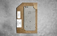 luna concrete iphone case designboom #luna