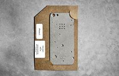 luna concrete iphone case designboom #luna