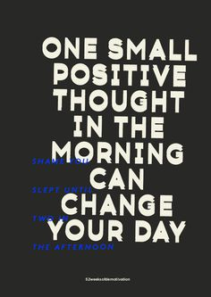 One small positive though #demotivation #quote #charcoal #poster #typography