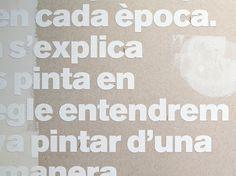 Lluís Cercós on the Behance Network #design #typography