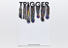 maybeitsgreat:Trigger, 2013 by Nick Schmidt from Germany #type #colorful #color #rainbow #melted