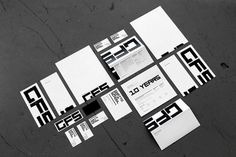 Graphic-ExchanGE - a selection of graphic projects #stationary #school #identity #film #ghetto #letterhead