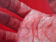 Flesh fields  Edie Nadelhaft\'s paintings