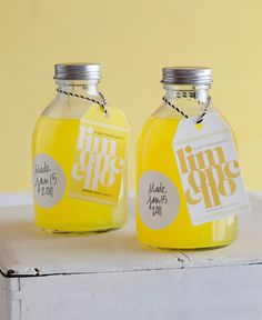 Limoncello lovely handmade packaging #packaging #handmade #bottle