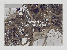 Wood Sculptures on the Behance Network #wood #weareplace #sculptures