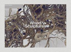 Wood Sculptures on the Behance Network #wood #weareplace #sculptures