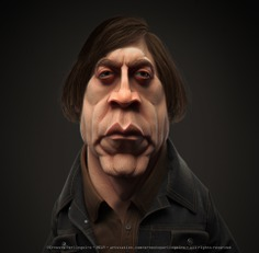 Anton Chigurh (No Country for Old Men) 3D model