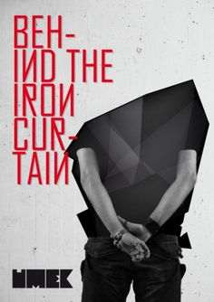 Behind The Iron Curtain   vbg.si - creative design studio #umek #flyer #design