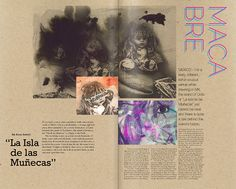 Embracing Ambiguity on Behance #mexico #layout #editorial #macabre