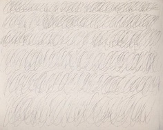 Cy Twombly, Untitled, 1968.