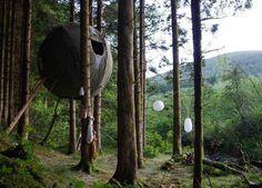 luminair tree tent1.jpg #tent #forest #tree