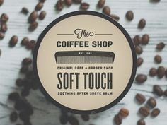Dribbble - The Coiffee Shop by Alex Westgate #packaging #type #branding #logo