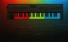 by carlosdamian.com #inspiration #synth #illustration #colors #3d