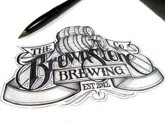 Beer Labels #lettering #hand